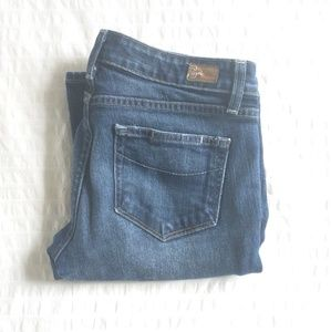 PAIGE Hollywood Hills Bootcut Jeans 27